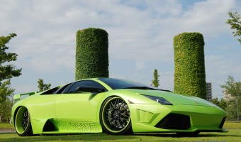 Futuristic-Green-Car